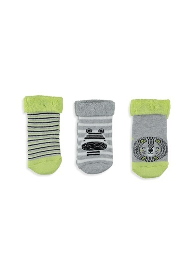 LC Waikiki 3'lü Çorap Yeşil